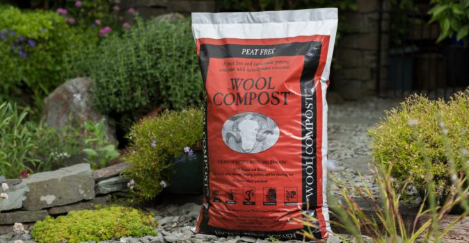 Save water in your summer garden by using sheep's wool on your veg & blooms