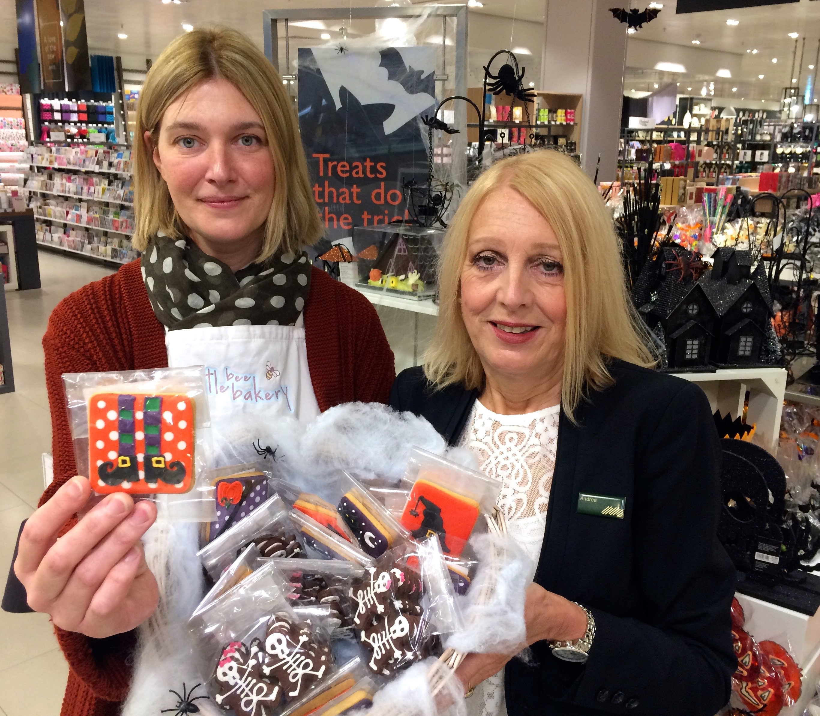 Crumbs! Romsey artisan bakery wins UK-wide Halloween biscuit contract with John Lewis