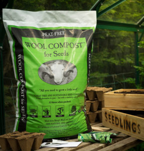 peat free Dalefoot Compost Wool Compost for Seeds