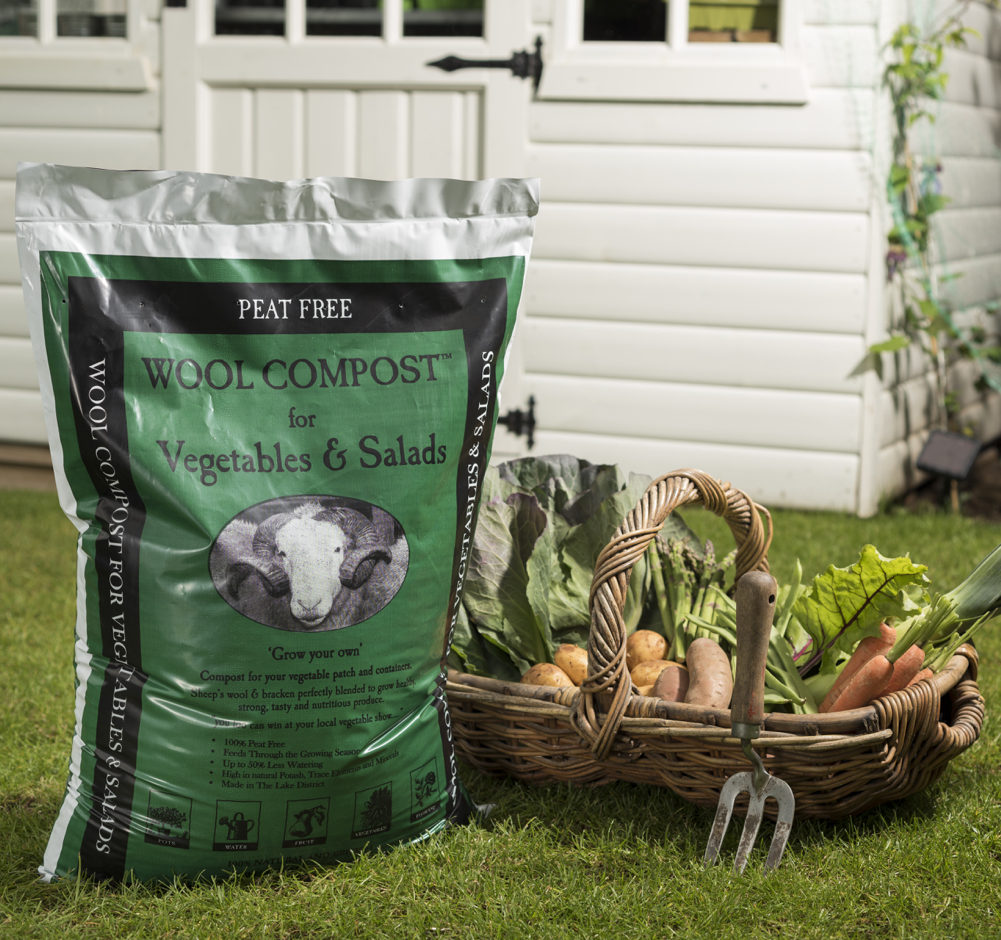 Dalefoot Composts peat free Wool Compost for Vegetables & Salads