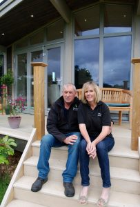 Dave and Carol Parker of Wheatley Farm Shop