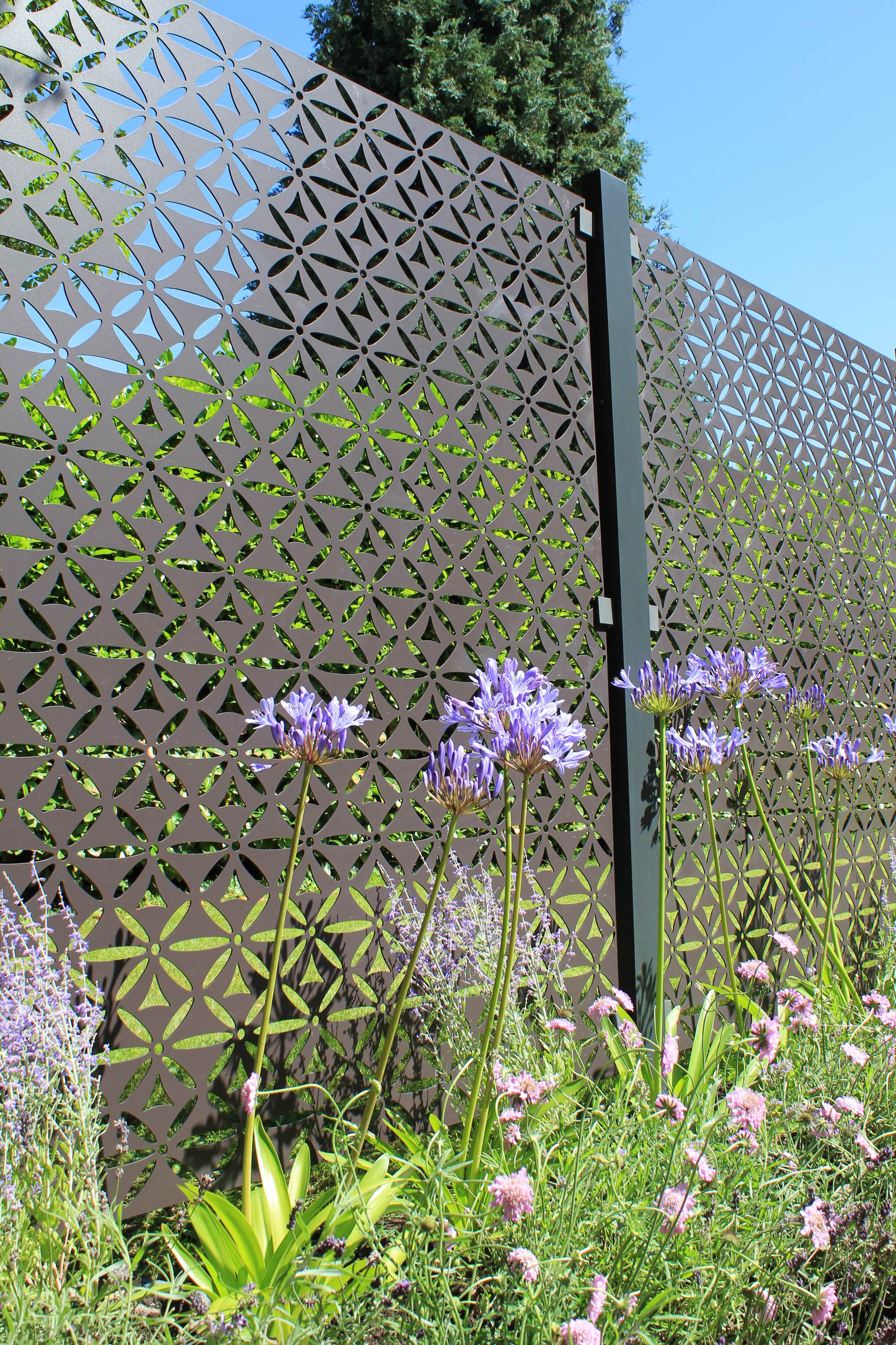 Stark and Greensmith Aluminium Motif panel