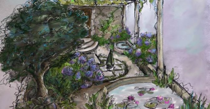 The Pazo's Secret Garden RHS Hampton