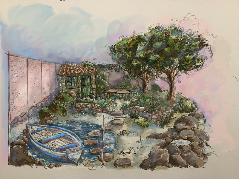 Garden at the End of the Earth by Rose McMonigall
