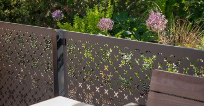 Contemporary garden screens with classic design twist from Stark & Greensmith and the RHS