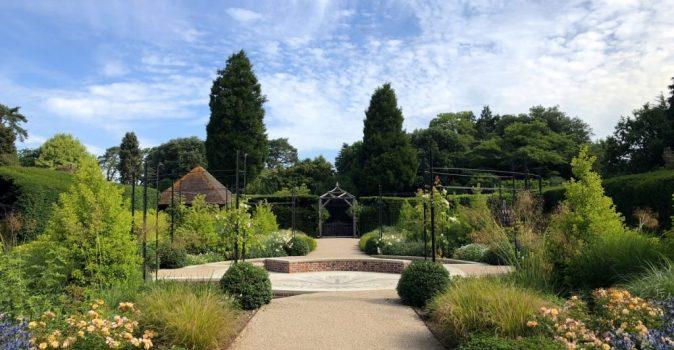 Exbury Centenary Garden designed by Marie-Louise Agius