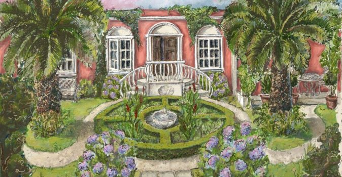 Flamboyant 19th century-style Galician pleasure garden to entice at RHS Hampton Court Palace Garden Festival