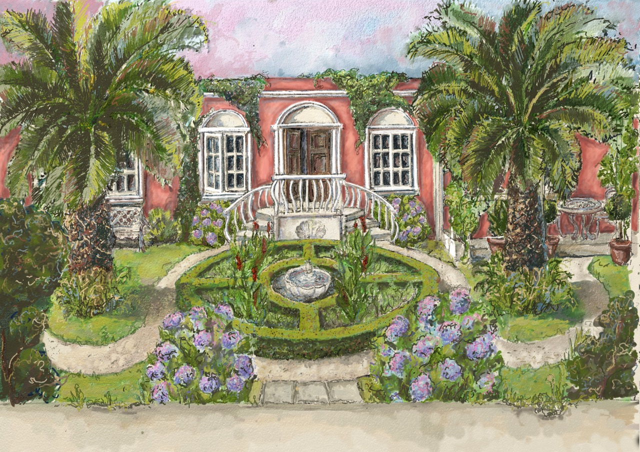 Flamboyant 19th century-style Galician pleasure garden to entice at RHS Hampton Court Palace Garden Festival