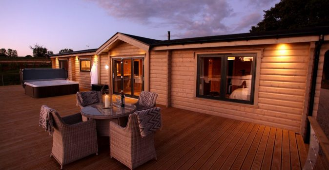 Uber-stylish lakeside holiday lodges open in rural Cambridgeshire