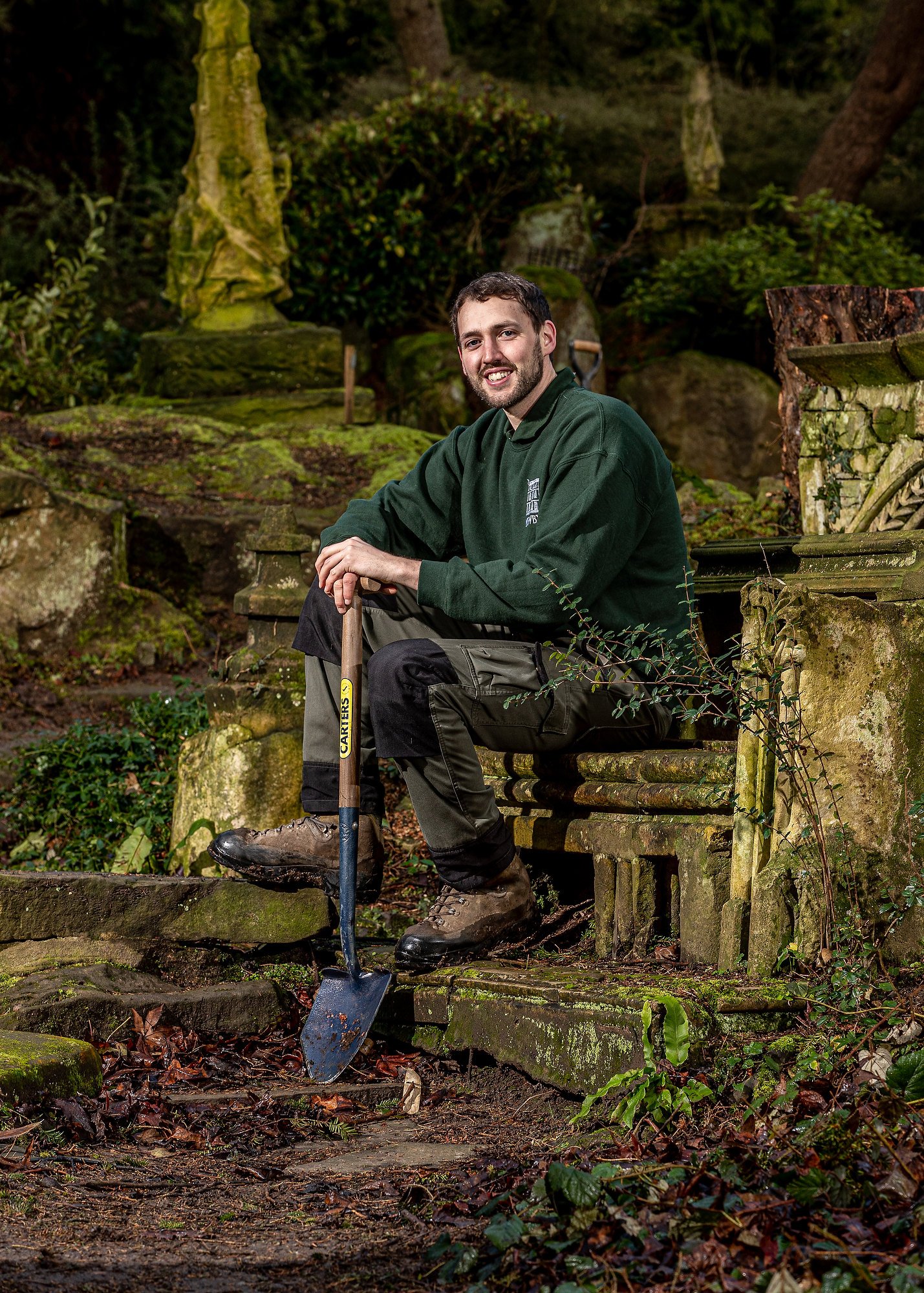 Rock Garden Restoration, Newby Hall, North Yorkshire UK